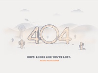 404 Get lost in the wilderness