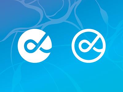 Alpha Ampersand concept logo ampersand alpha