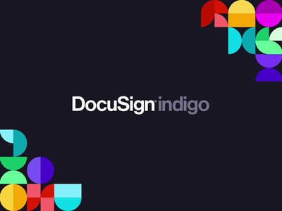 DocuSign indigo Conference - Branding website aftereffects figma animation productexperience branding docusignindigo docusign