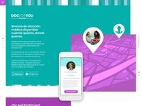 Docforyou startup Web design