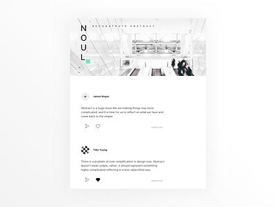Design Forum Concept practice