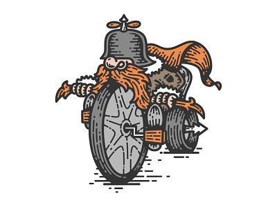 Handlebar Mustache handlebar big wheel illustration beard tricycle trike chopper motorcycle bicycle bike mustache