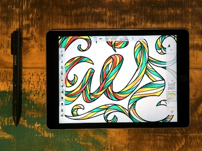 Colorful Words 03 hand letter words typography type sketch script lettering fun font doodle colorful