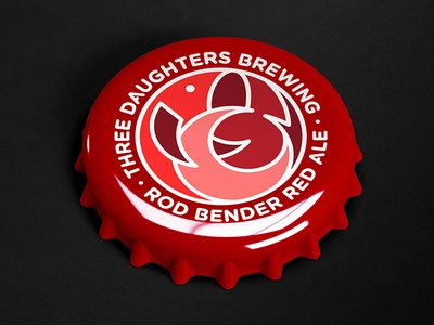 Rod Bender Red Ale icon florida nautical fishing fish cap bottle bottlecap brewery ale beer