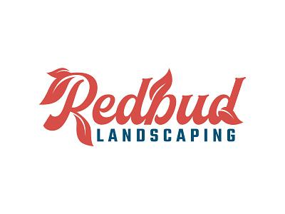 Redbud Landscaping typography lettering tree garden flower leaf leaves nature plant landscape redbud