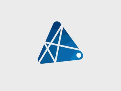 A Triangle Logo