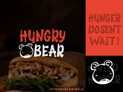 Hungry Bear Resturant Branding