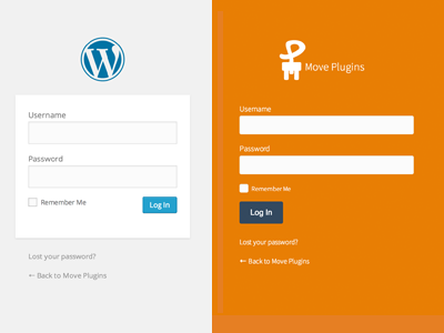 WordPress Login Custom Styled wordpress css login styling custom flat