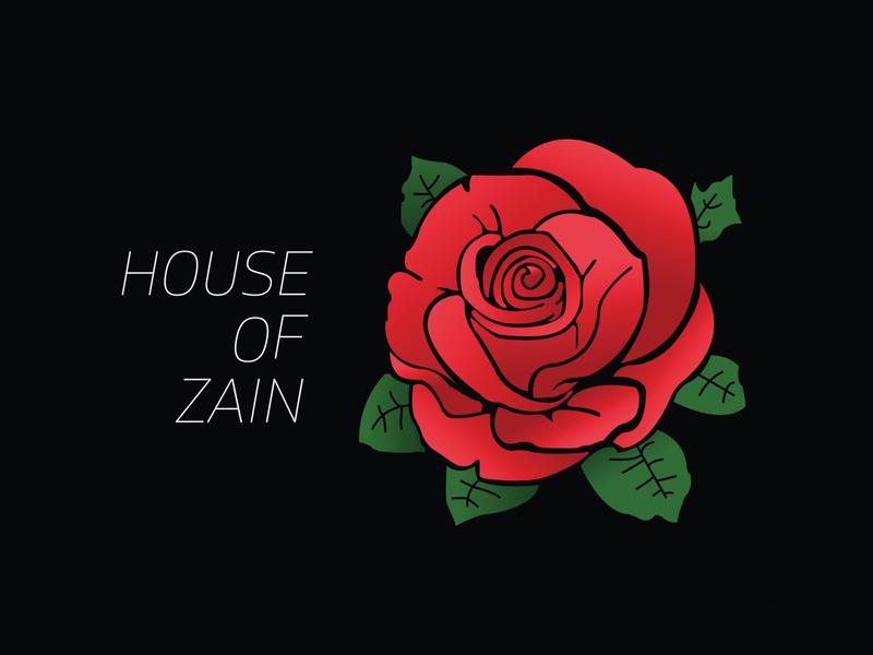 Day 25  House Of Zain logo design challenge logo design concept logo design logo