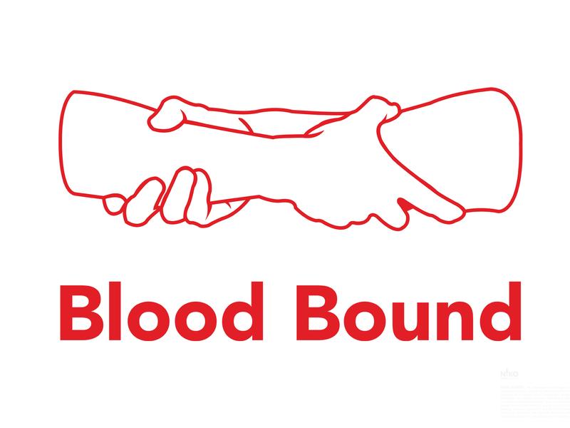Day 26  Blood Bound logo design challenge logo design concept logo design logo