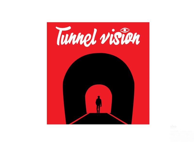 Day 29  Tunnel Vision logo design challenge logo design concept logo design logo