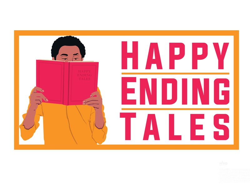 Day 30  Happy Ending Tales logo design challenge logo design concept logo design logo