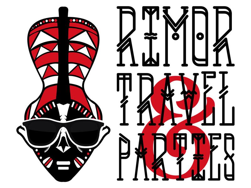 Rimor Travel & Parties design kenya illustraion logo design concept logo design logo