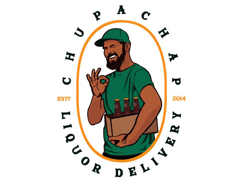 Chupa Chap Logo kenya illustation logo design concept logo design logo