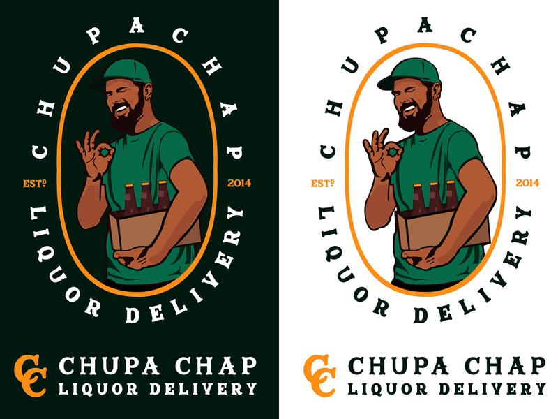Chupa Chap Logo Variations kenya illustration logo design concept logo design logo