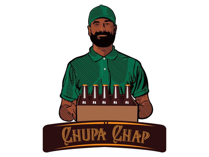 Chupa Chap Logo Concept 2 kenya illustraion logo design concept logo design logo
