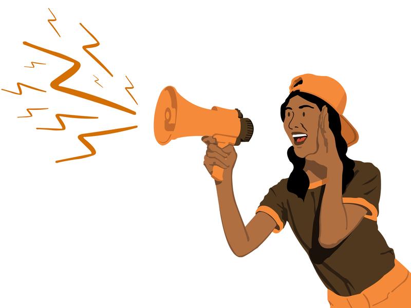 Voices kenya illustrate illustration