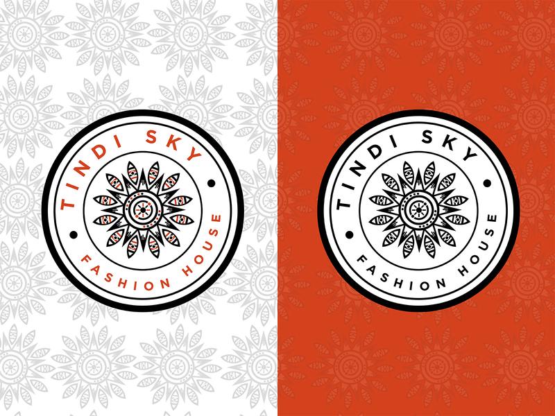 Tindi Sky Logo Concept pattern design logos kenya design graphic design logo design concept logo design logo