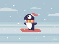 snowboarding buddy