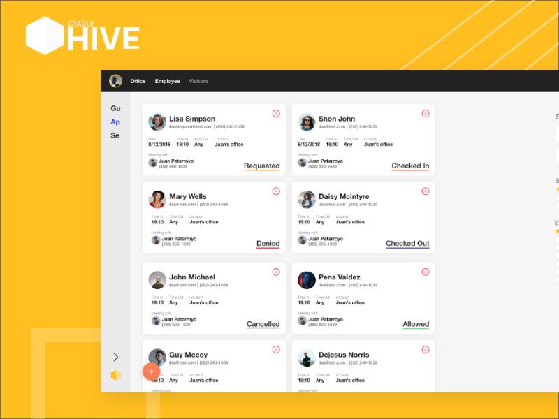 Hive you seen this? app ux uxui ui colours web app design