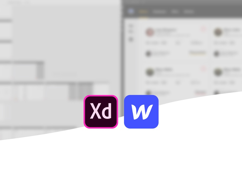 What's on your computer? web technology colours adobe xd hero blog webflow
