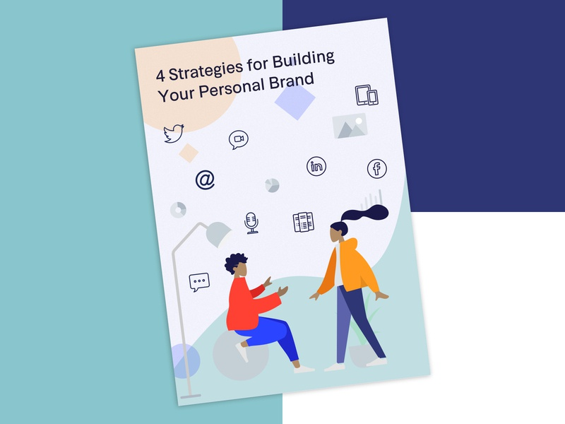 Personal Brand... Who needs it? YOU! illustration branding color colours design brand and identity brand ebook cover ebook