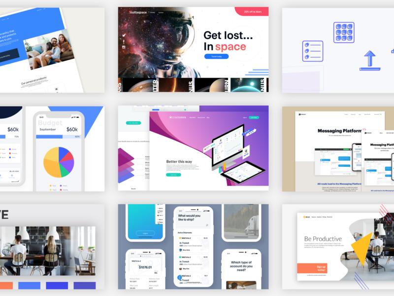 2018 - Top 9 hero icons design space ios app web top 9