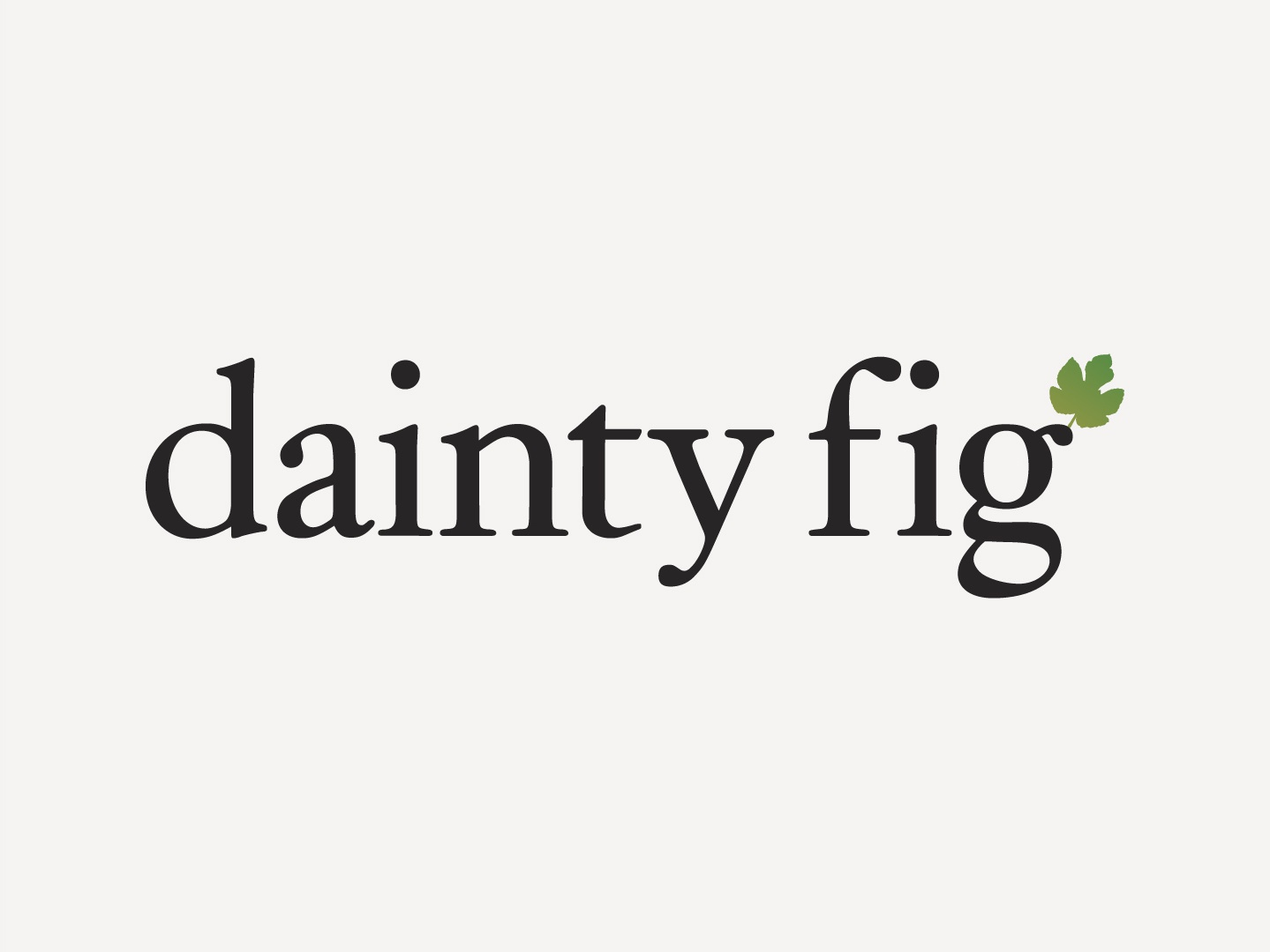 Ain't that a Dainty Logo? ecommerce typography brand branding identity logo colours design
