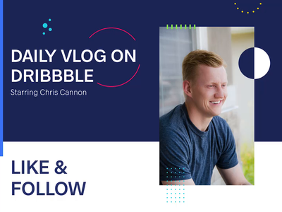 Starting a Daily Vlog on Dribbble! - Turn sound on