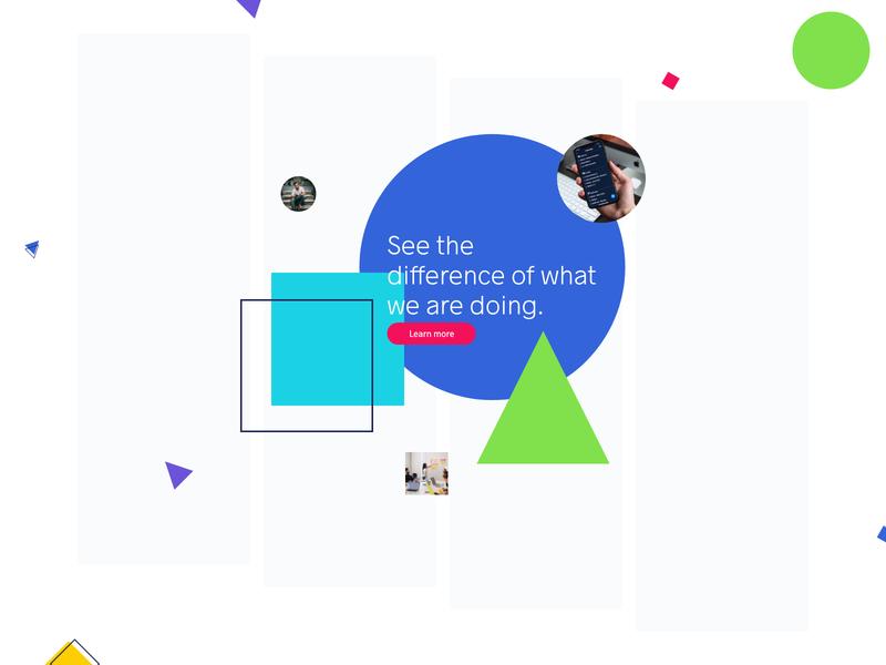 Sneak Peek - Colours 2019 Website ux ui typography color colours design section web website