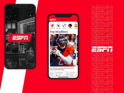 #DesignAnExperience - ESPN App