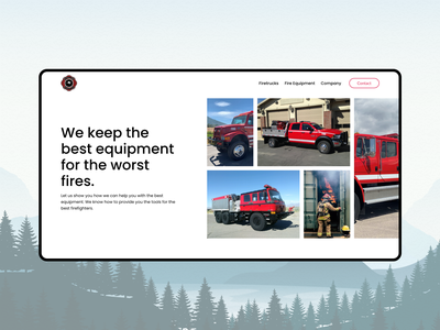 Outback Apparatus - Product Hero ui product car ecommerce web website design colours illustration