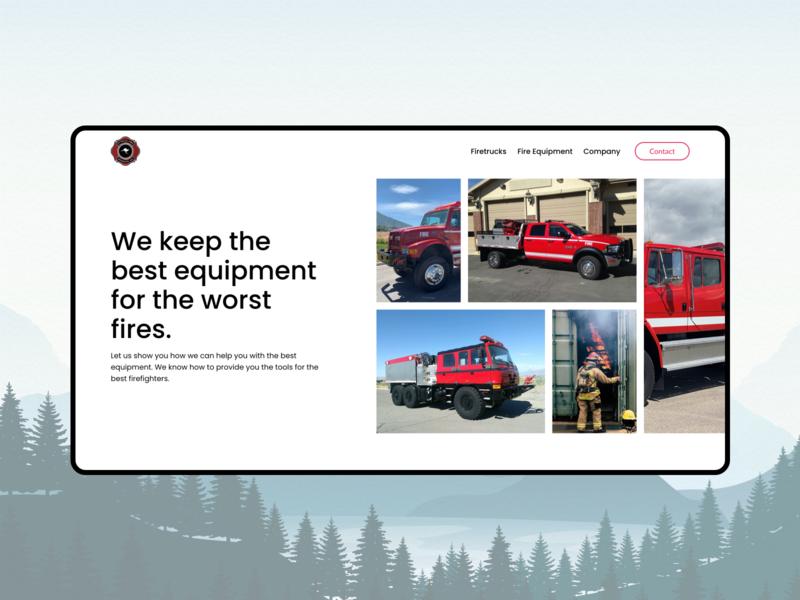 Outback Apparatus - Product Hero ui product car ecommerce web website design colours illustration