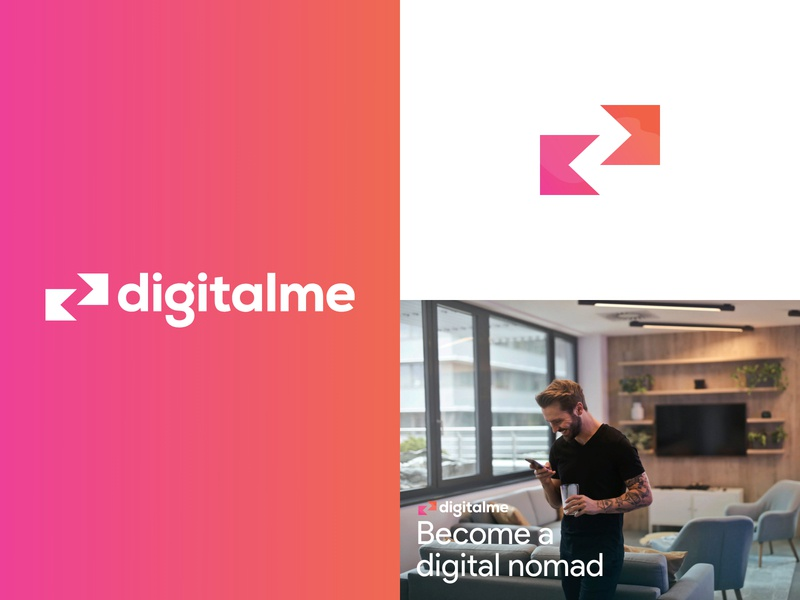DesignMe Brand colours typography vector branding color identity logo app brand