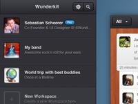 Wunderkit workspaces