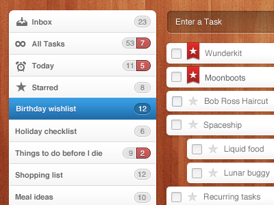 Wunderkit tasks wunderkit 6wunderkinder tasks lists ui