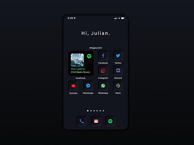iOS14 icon set - Dark theme ios14 icon set icon design icons icon neumorphic 2020 trend neumorphism 2020