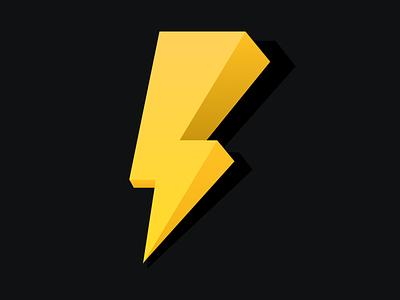 Lightning - 3d illustration 2020 trend 2020 design illustration 3d illustration 3d lightning