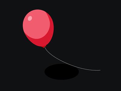 Balloon - 3d illustration 3d illustration 2020 trend 2020 balloon 3d illustration