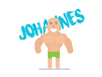 Johannes R Bartel  gigantic roark rocky cool ux ui rig character minimal design vlog youtube
