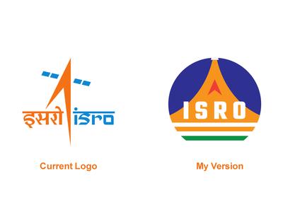 ISRO Logo Redesign