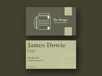 The Range Bsiness Card Design