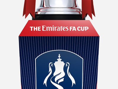 The Emirates FA Cup Plinth england wembley tournament trophy soccer football the fa plinth the fa cup