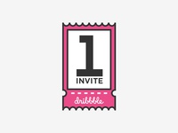 Dribbble Invite available