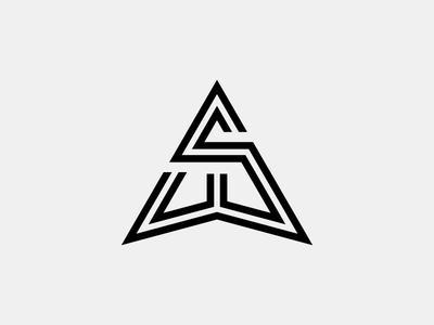 Silvan Widmer Logo swiss monogram illustration stroke letter line soccer vector lettering typography football icon logo