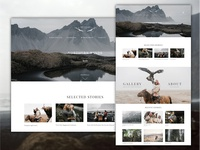 Traveler and photographer website