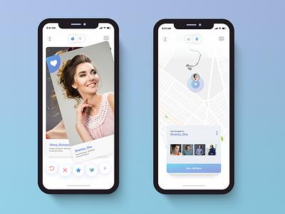 TinderApp tinder tinderappredesign minimal app design design app desing ios app ui uiux mockups app design