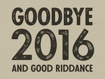 Goodbye texture helluva year