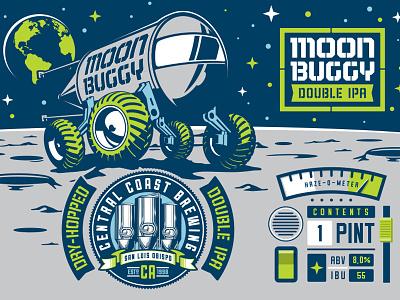 Moonbuggy DIPA haze illustration beer