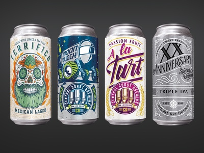 Cans on Cans on Cans design labels cans beer